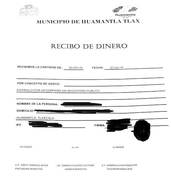 Alcalde ofertó 20 mil de recompensa y sólo cumplió con 5 mil pesos