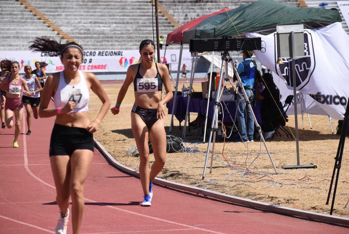 Se posicionan tlaxcaltecas en los primeros lugares en macro regional de atletismo