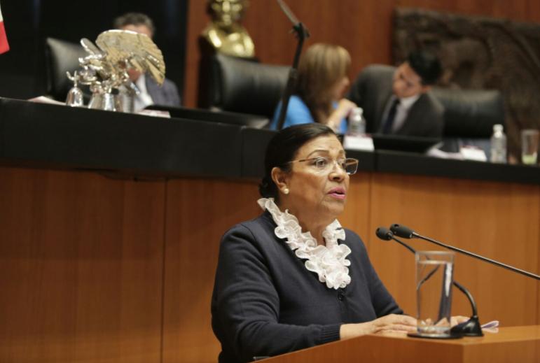 Critica MPG dictamen tardío sobre PED de Tlaxcala en el Senado