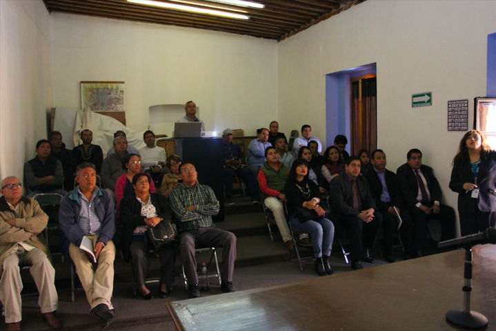 Servidores Públicos de Huamantla se capacitan para conformar el Censo Nacional de Gobiernos Municipales