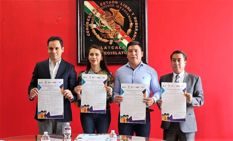 Presentan convocatoria para Parlamento Juvenil Tlaxcala 2017