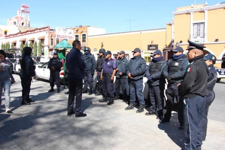 Seguridad pública y PC municipal realizaran un operativo durante la jornada electoral