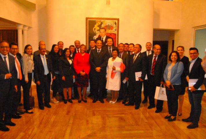 Concluye Martha Palafox gira de trabajo por Marruecos