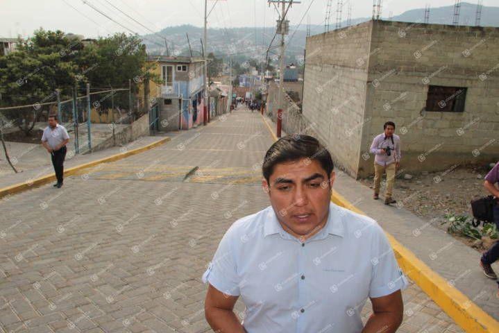 Con obras concretas mejoramos la Guridi y Alcocer de Chimalpa: alcalde