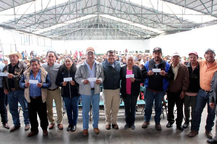 Respalda Sefoa a 400 productores afectados por contingencias climatológicas