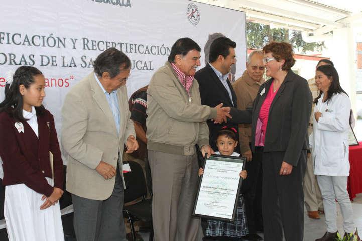 Inauguran la Segunda Semana Nacional de Salud Bucal en Tlaxcala
