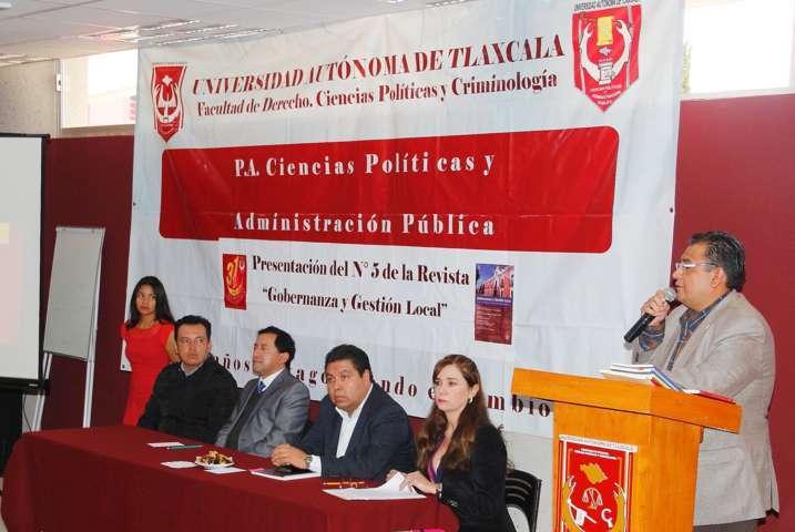 """Presentó UAT número 5 de la revista """"Gobernanza y Gestión Local"""""""