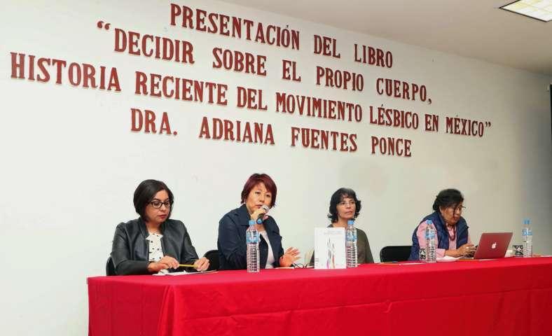 Presentan en la UAT libro sobre el movimiento lésbico en México