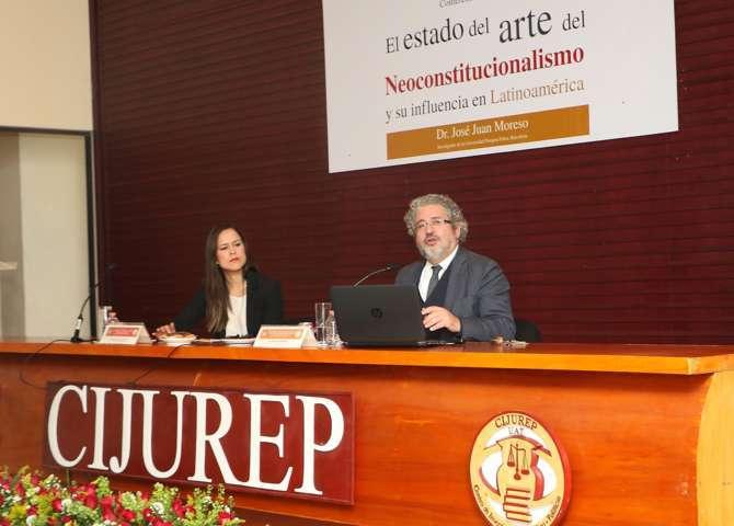 Analizan en el CIJUREP de la UAT el Neoconstitucionalismo