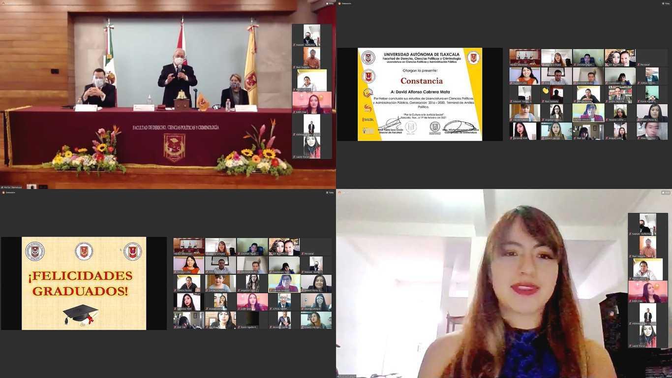 Culminan estudios en Ciencias Políticas y Administración Pública en la UATx