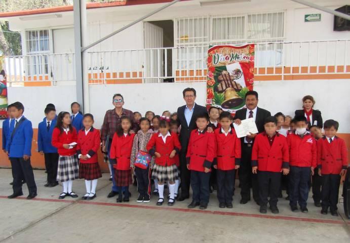 Atendió UAT a estudiantes de primaria con el programa de eliminación de caries