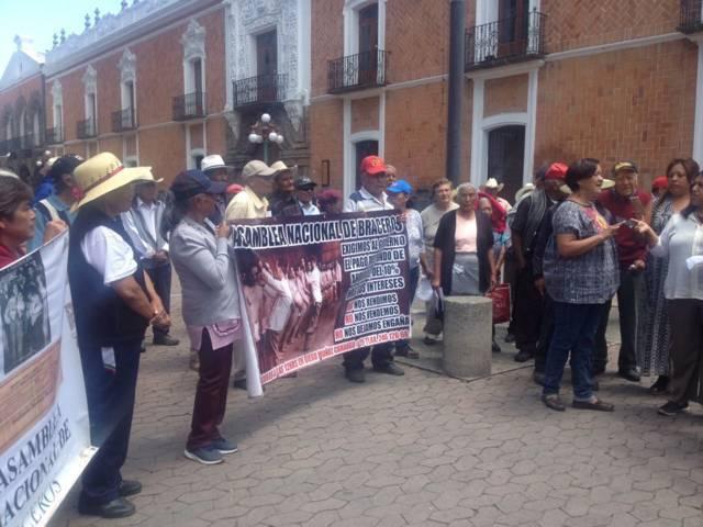 Pedimos que Peña Nieto nos regrese lo que se robó: braseros