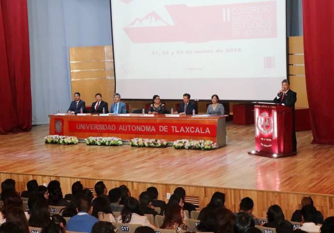 Pone en marcha la UAT su II Congreso Nacional de Estudios en Lenguas