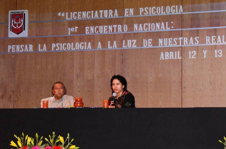 Efectuó la UAT el 1er. Encuentro nacional: Pensar la Psicología a la luz de nuestras realidades