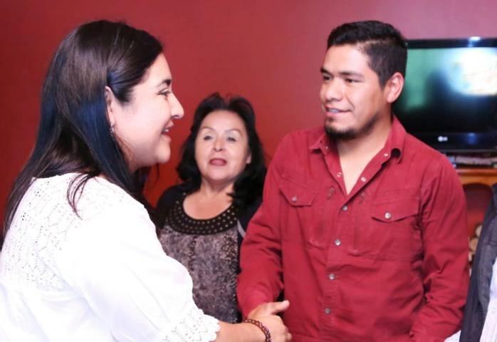 La juventud tlaxcalteca tendrá una educación dual con Anabel Alvarado en el Senado