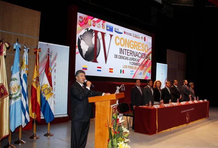 """En marcha el """"IV Congreso Internacional de Ciencias Jurídicas y Criminológicas"""" de la UAT"""