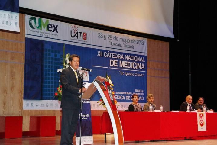 """Es sede la UAT de la """"XII Cátedra Nacional CUMex de Medicina Dr. Ignacio Chávez"""""""
