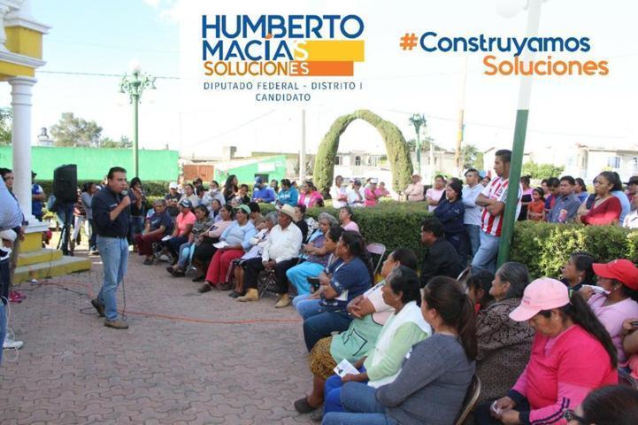 Existe una necesidad en el Distrito I de desarrollo académico: Humberto Macías