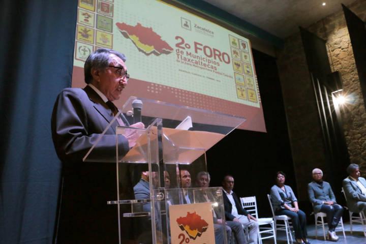 Inaugura SEGOB Segundo Foro de Municipios de la Zona Metropolitana Tlaxcala-Puebla
