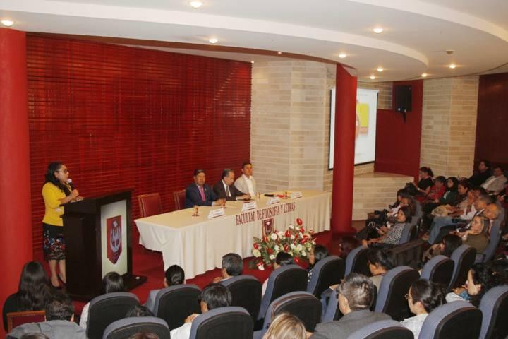 Rinde informe Directora de la Facultad de Filosofía y Letras de la UAT