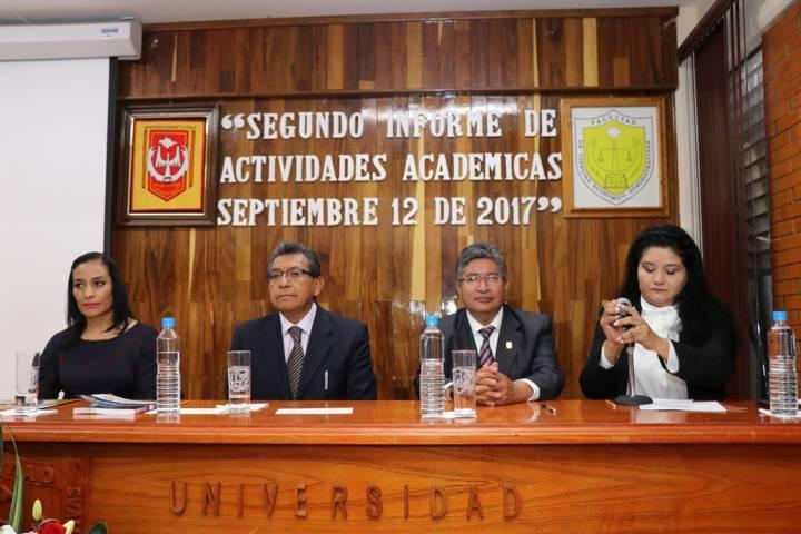 Presentan informe Facultad de Ciencias Económico Administrativas de la UAT
