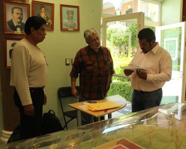 Entrega INAH al Gobierno de Tepetitla registro de piezas arqueológicas
