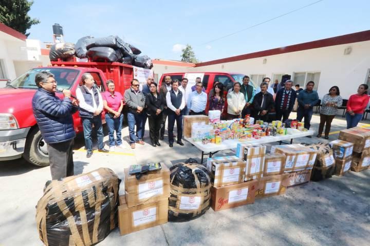 Manda UAT segunda colecta de víveres a damnificados por sismos