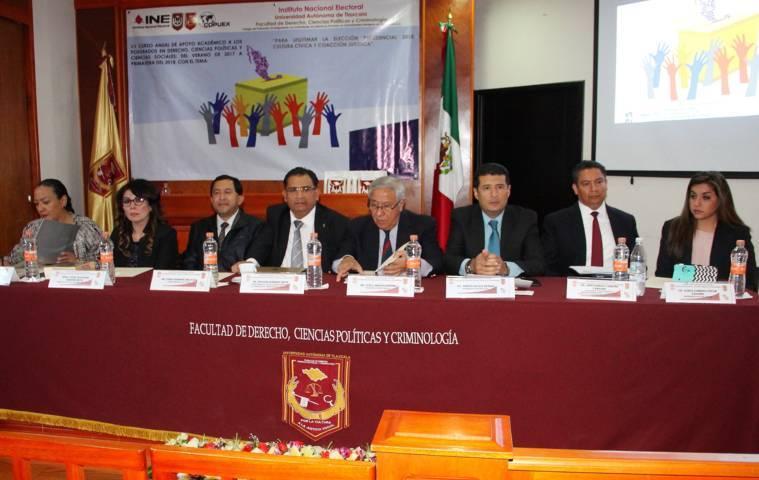 Fue sede la UAT del XX Curso Anual de Apoyo Académico a los Posgrados en Derecho y Ciencias Sociales