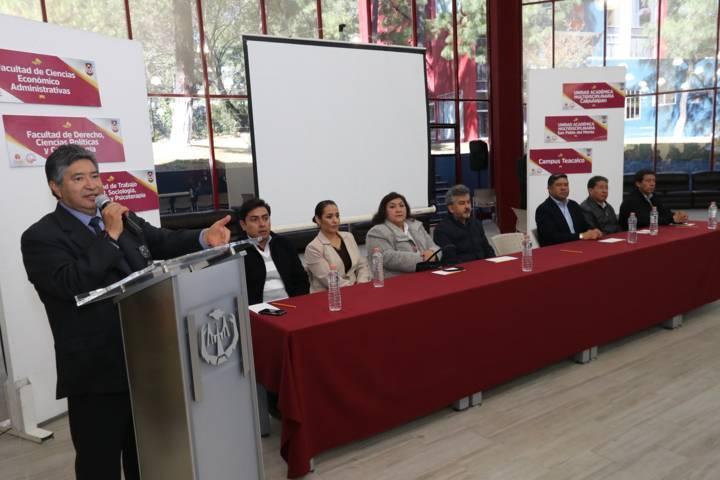 Dice el rector Rubén Reyes que la UAT evalúa su modelo curricular