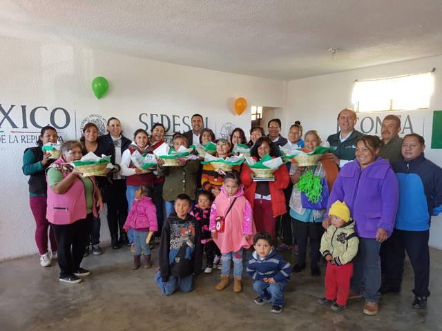 Inaugura Sedesol lechería de Liconsa en Españita