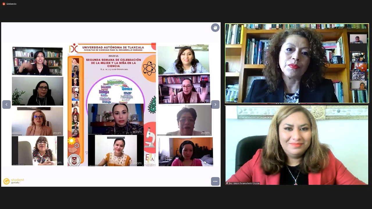 """Avanza en UATx ciclo de conferencias """"Mujeres que estudian mujeres"""""""