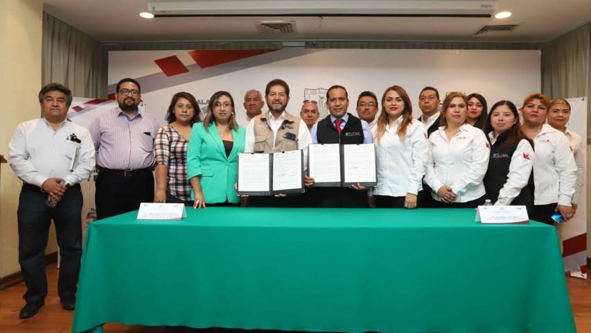 Firman DAM e ITEA convenio para que tlaxcaltecas concluyan su educación básica