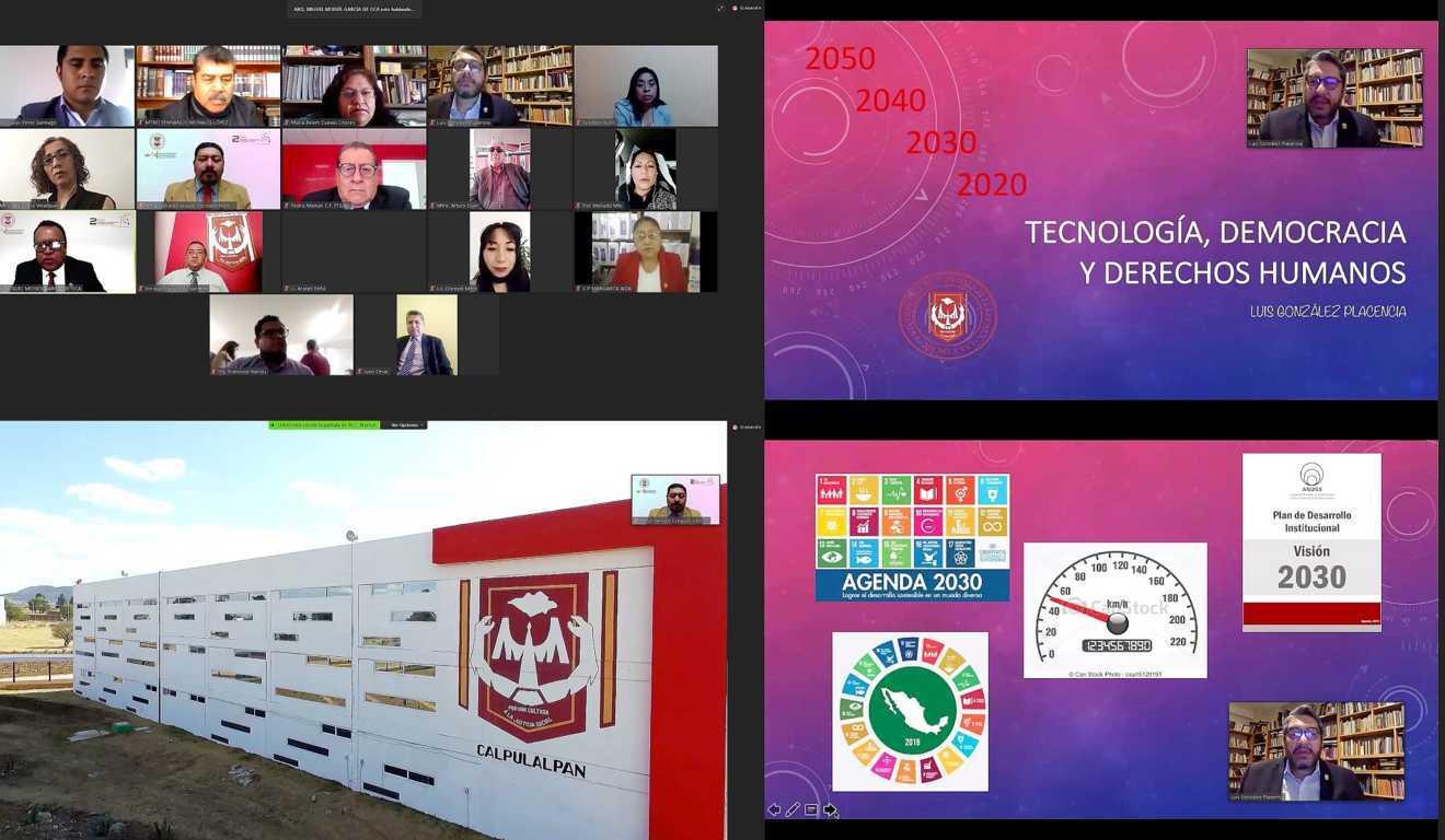 Reflexionan en la UATx sobre democracia, tecnología y seguridad humana