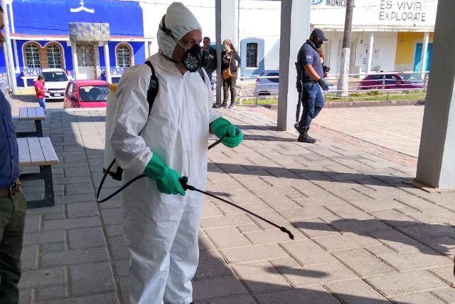 Se realizará en Tzompantepec sanitizacion de las cinco comunidades