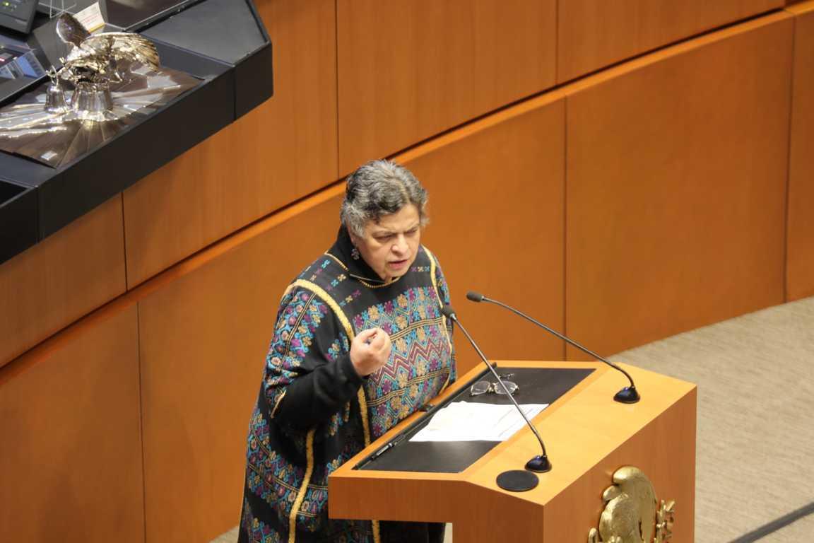 Intervención de Beatriz Paredes sobre Ley General de Bibliotecas