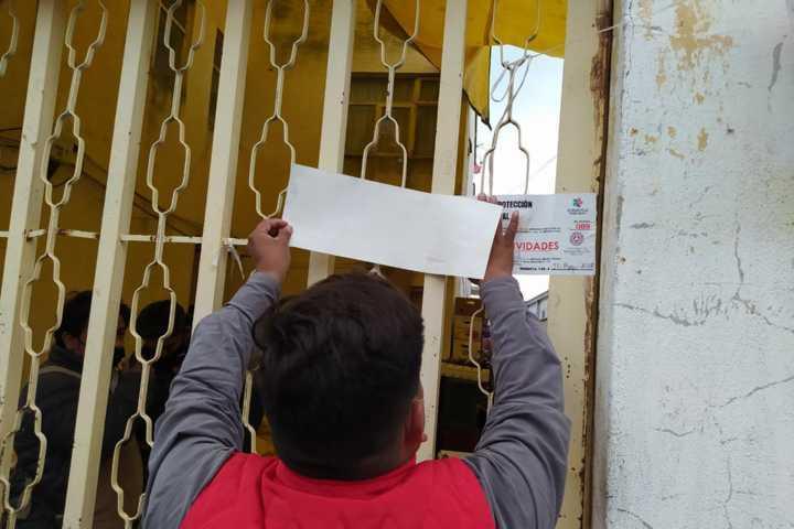 Suspenden funcionamiento de cocheras que fueron rentadas para el comercio informal