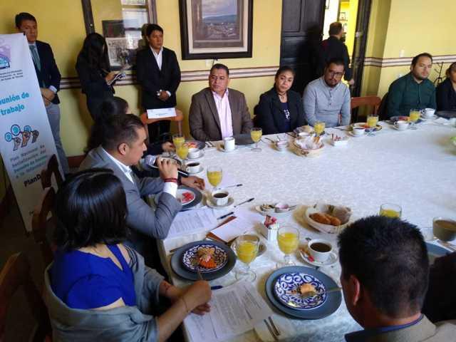 Estamos generando herramientas para fortalecer la trasparencia: Eloy Reyes