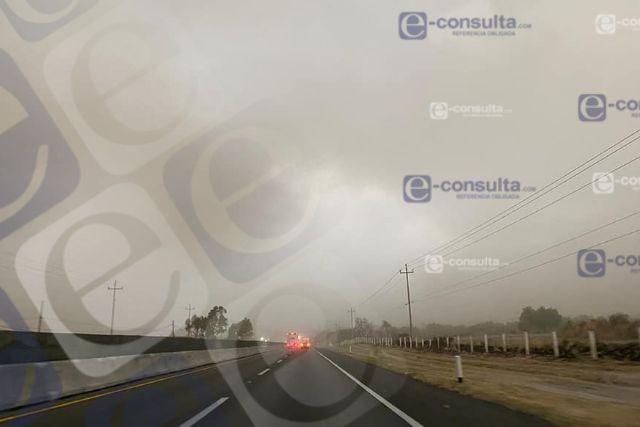 Tormenta registrada en Huamantla deja daños materiales