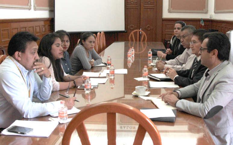 Sostiene SEPE reunión de trabajo con estudiantes de la Normal Rural de Panotla