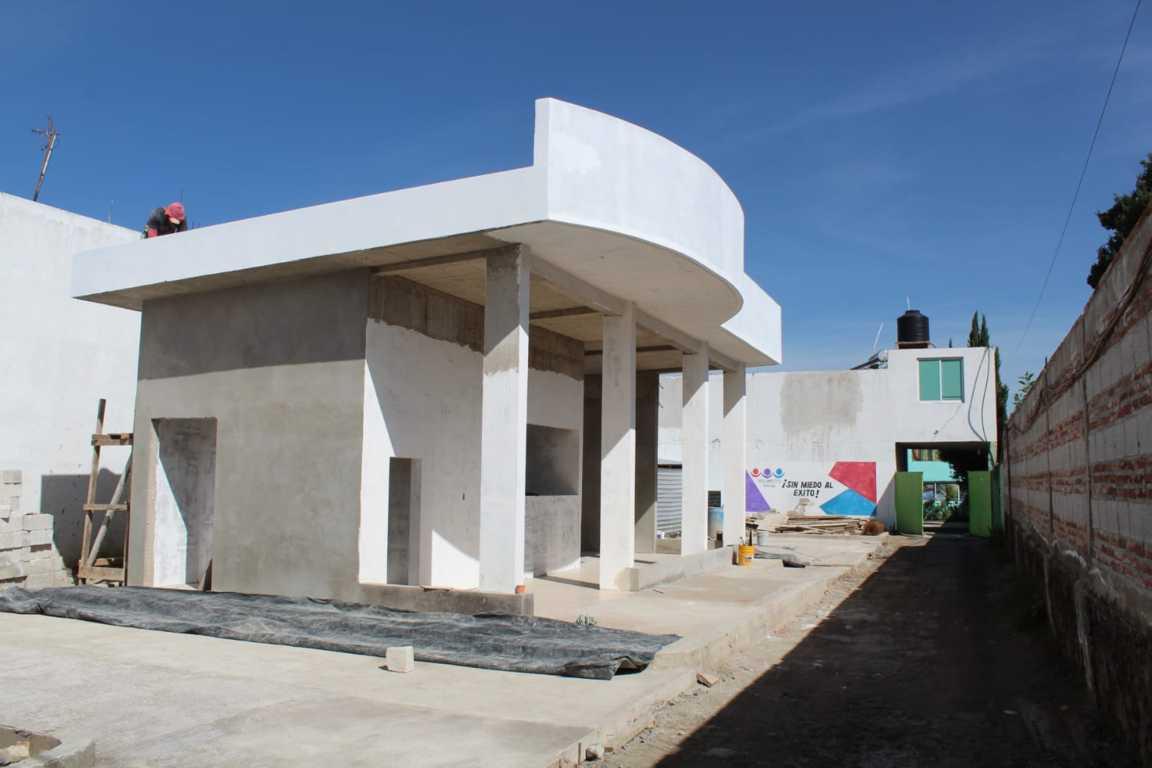 El Banco de Bienestar de SPM registra importantes avances en su edificación