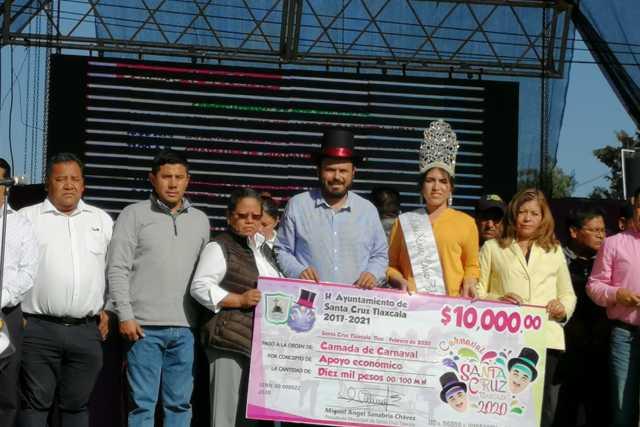 Arranca el carnaval de Santa Cruz Tlaxcala con la participación de 23 camadas