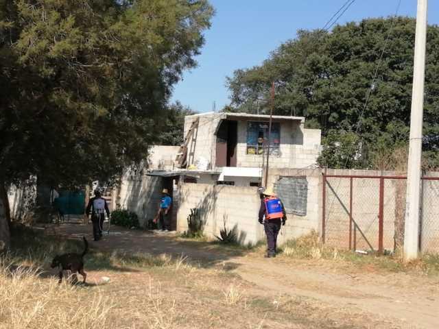 Continúan acciones preventivas en San Miguel Contla