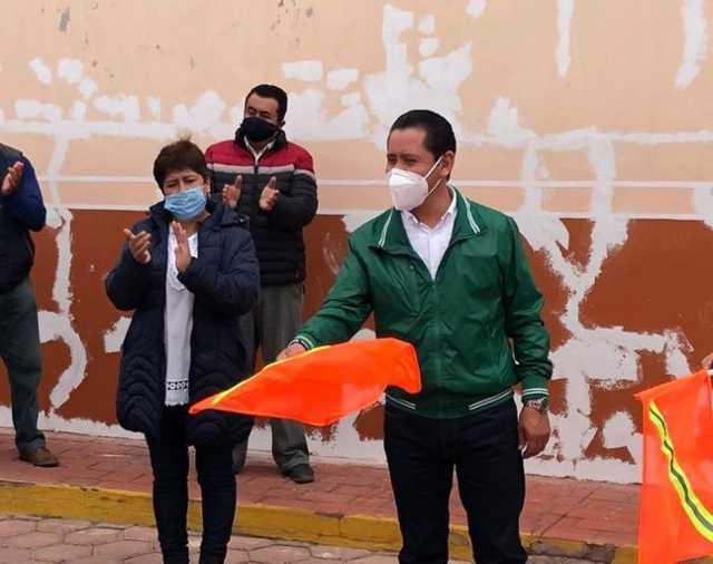 Víctor Hugo inicia la rehabilitación de la Imagen Urbana en San Felipe Hidalgo