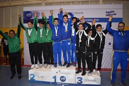 Logran equipos de squash de Tlaxcala buenos resultados