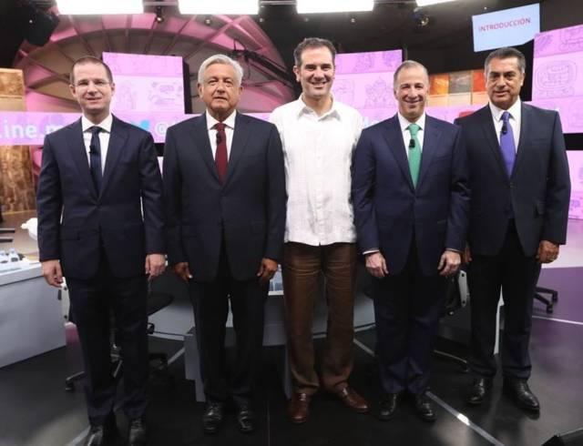 Realiza INE Tercer y último Debate Presidencial de cara a las elecciones del 1° de julio