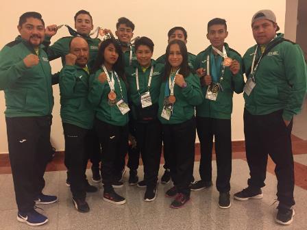Gana delegación de Tlaxcala 10 medallas en Juegos Populares