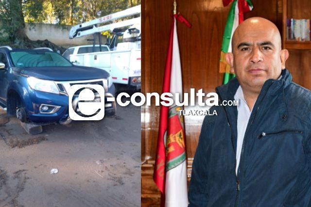Le roban al presidente de Amaxac; supuestamente andaba de parranda