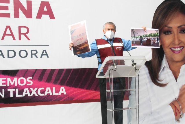 Morenistas denuncian acciones del gobierno estatal para coaccinar del voto