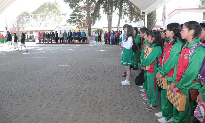 Secundarias generales inauguran las ligas deportivas escolares