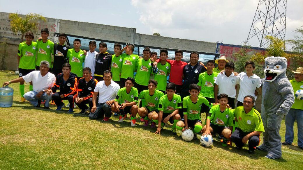 Lobos de Tlaxcala Amaxac, campeón de la Cuarta División sub 15
